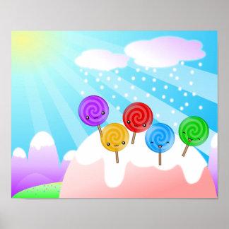 Poster de la tierra del Lollipop
