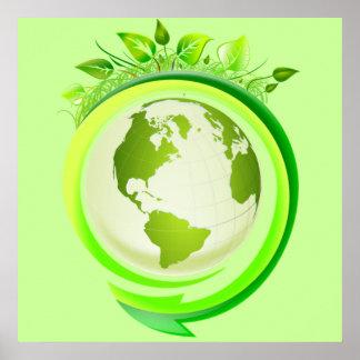 Poster de la tierra verde