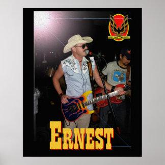 Poster de la tina caliente de Ernesto