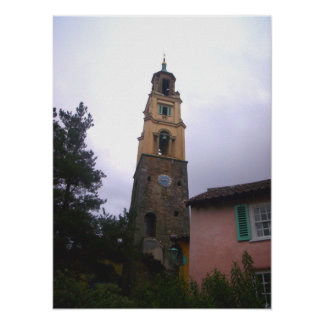 Poster de la torre de Portmeirion