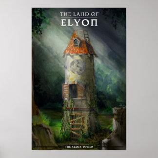Poster de la torre de reloj