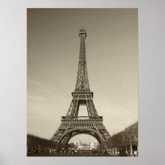 Poster de la torre Eiffel