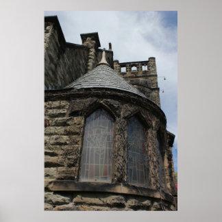 Poster de la torrecilla de la iglesia