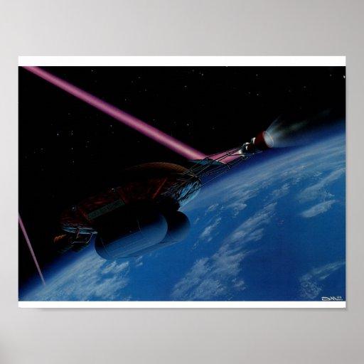 Poster de la tortuga del espacio
