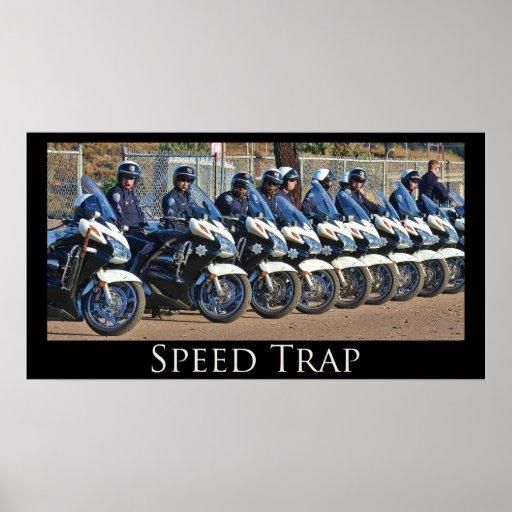 Poster de la trampa de velocidad
