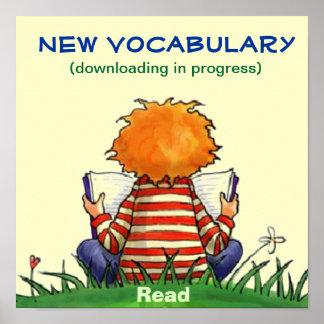 Poster de la transferencia directa del vocabulario
