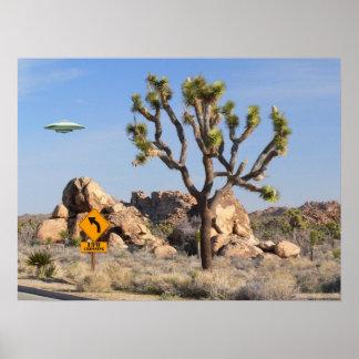 Poster de la travesía del UFO