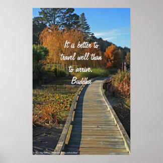 Poster de la trayectoria del otoño