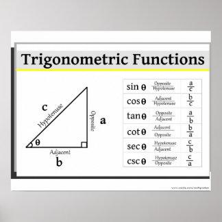 Poster de la trigonometría