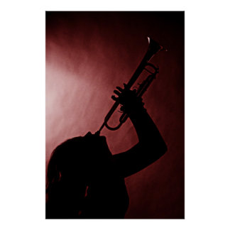 Poster de la trompeta póster