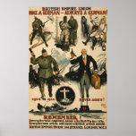 Poster de la unión del Imperio británico