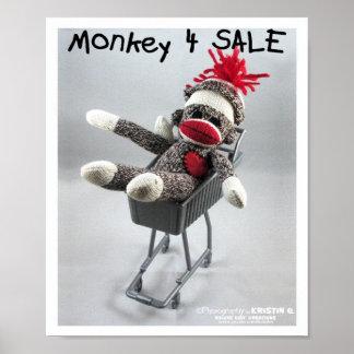 Poster de la venta del mono 4 (por el kolohe Krist