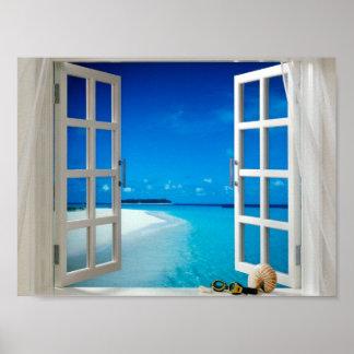poster de la ventana