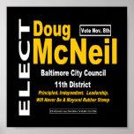 Poster de la ventana de Doug McNeil (muestra)