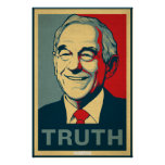 Poster de la verdad de Ron Paul