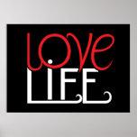 Poster de la vida del amor