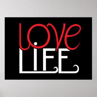 Poster de la vida del amor póster