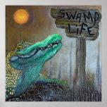 Poster de la vida del pantano póster