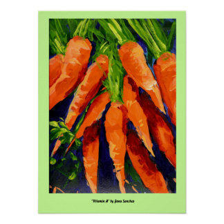 Poster de la vitamina A