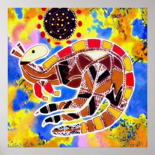 Poster de la vuelta del canguro