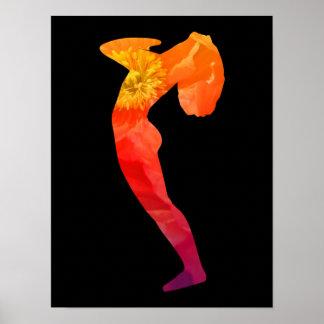 Poster de la yoga