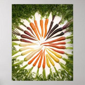Poster de la zanahoria