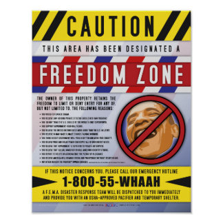 Poster de la zona de la libertad