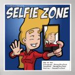 Poster de la zona de Selfie (personalizable)
