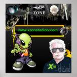 """Poster de la zona de """"X"""""""