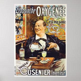 Poster de L'Absinthe Cusenier