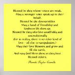 Poster de las bendiciones