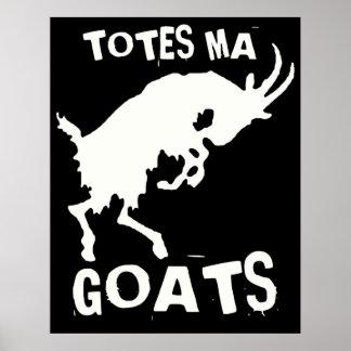 Poster de las cabras del mA de los totes