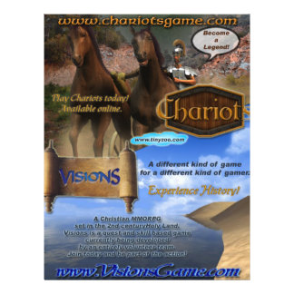 """Poster de las Carro-Visiones Folleto 8.5"""" X 11"""""""
