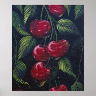 Poster de las cerezas