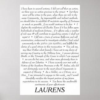 Poster de las citas de Juan Laurens