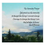 Poster de las colinas de la serenidad