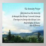 Poster de las colinas del rezo de la serenidad