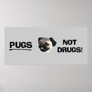 Poster de las drogas de los barros amasados no