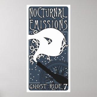 Poster de las emisiones nocturnas