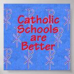 Poster de las escuelas católicas