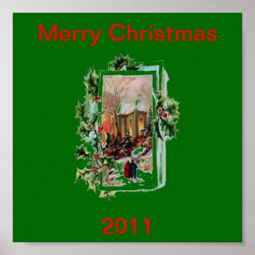 Poster de las Felices Navidad