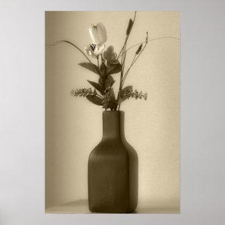 Poster de las flores artificiales