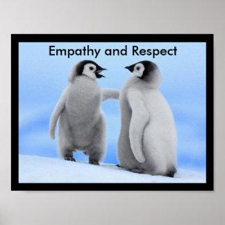 Poster de las habilidades de la vida de la empatía