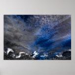 Poster de las impresiones de la nube