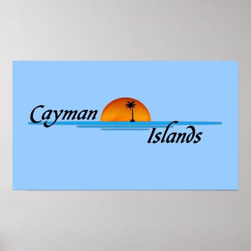 Poster de las Islas Caimán