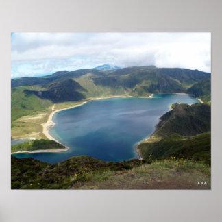 Poster de las islas de Azores