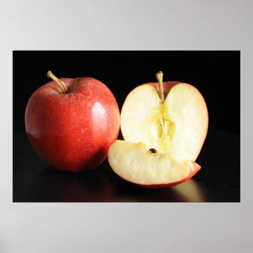 Poster de las manzanas