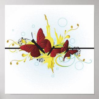 Poster de las mariposas