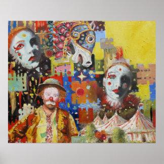 """""""Poster de las memorias del circo"""""""