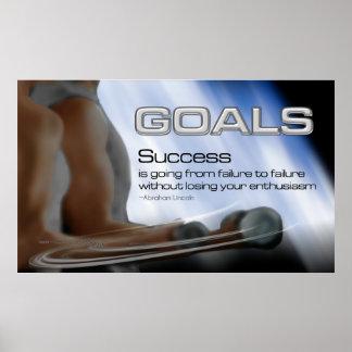 Poster de las metas